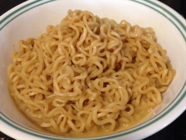 A portion of Kylie Jenner's ramen recipe